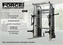 "Force USA - ""Monster G6"" (Smith, Crossover, Κλωβός Δύναμης)"