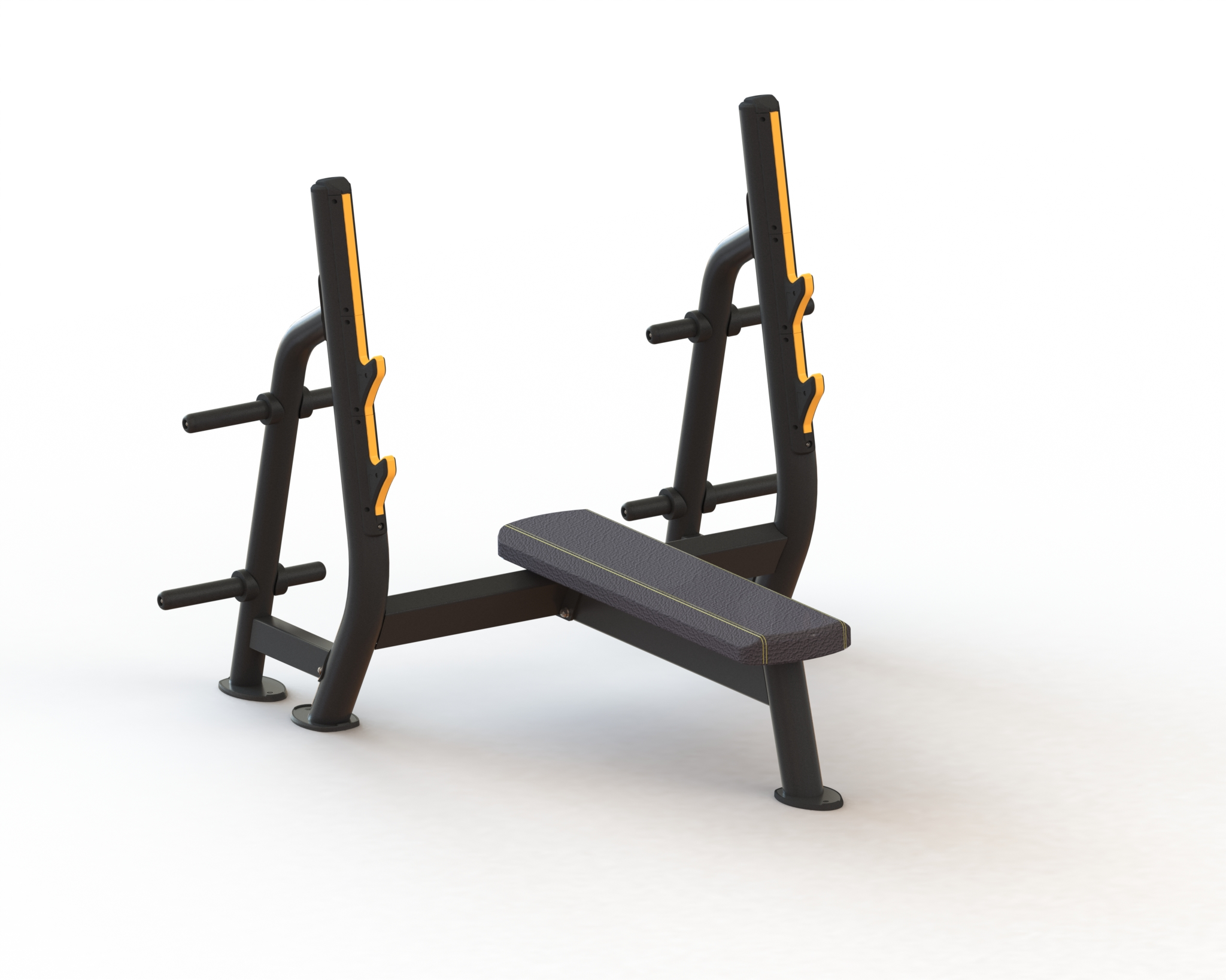 Power Life Olympic Flat Bench